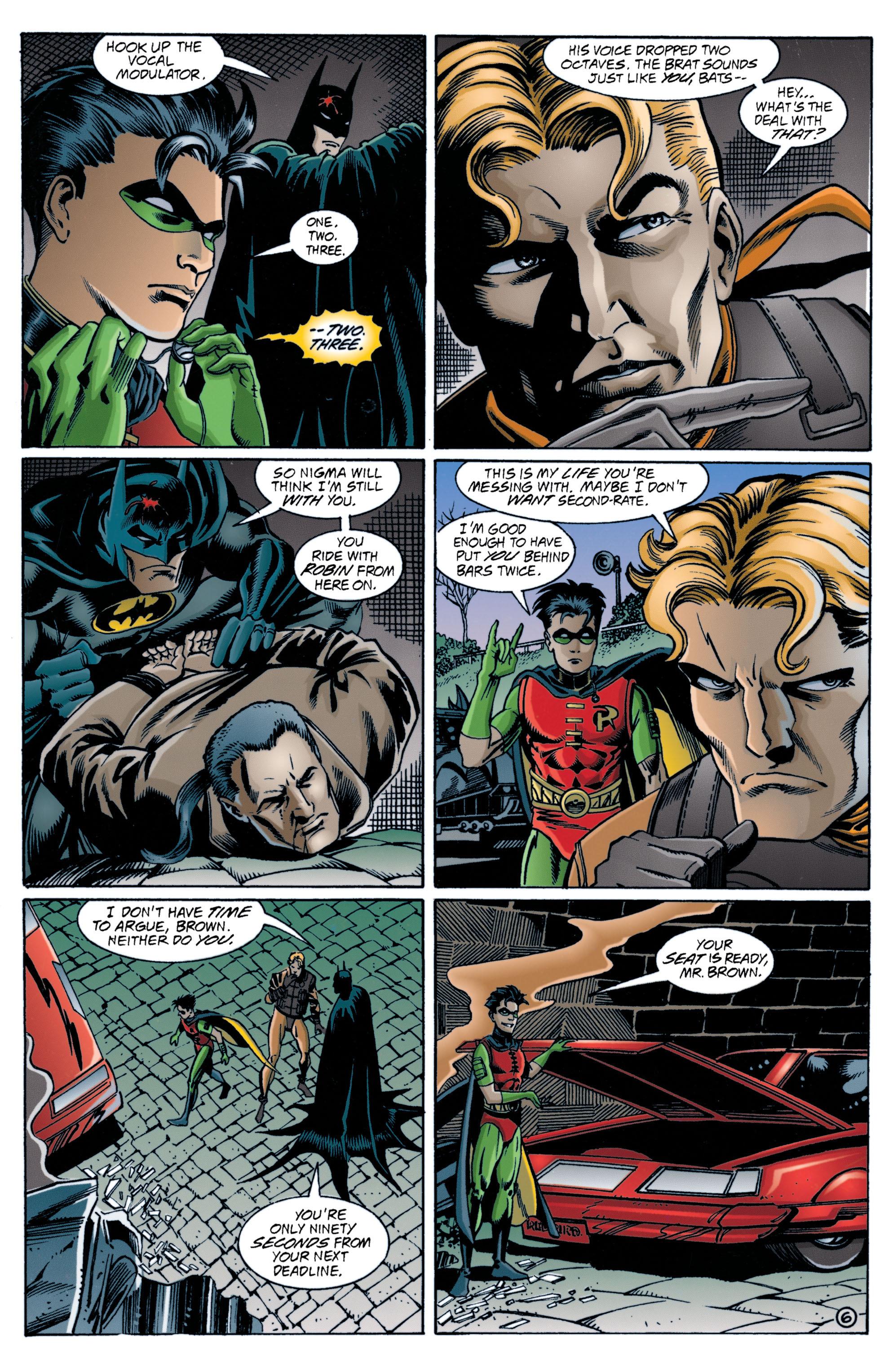 Detective Comics (1937) 707 Page 6