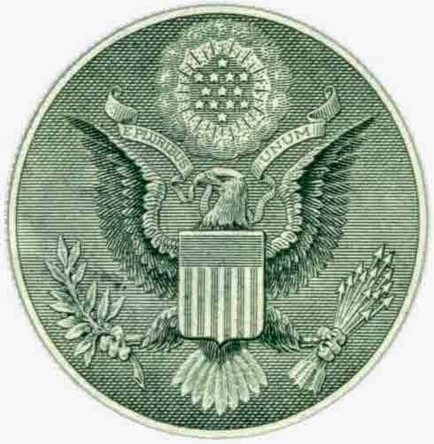 символ орла на долларе