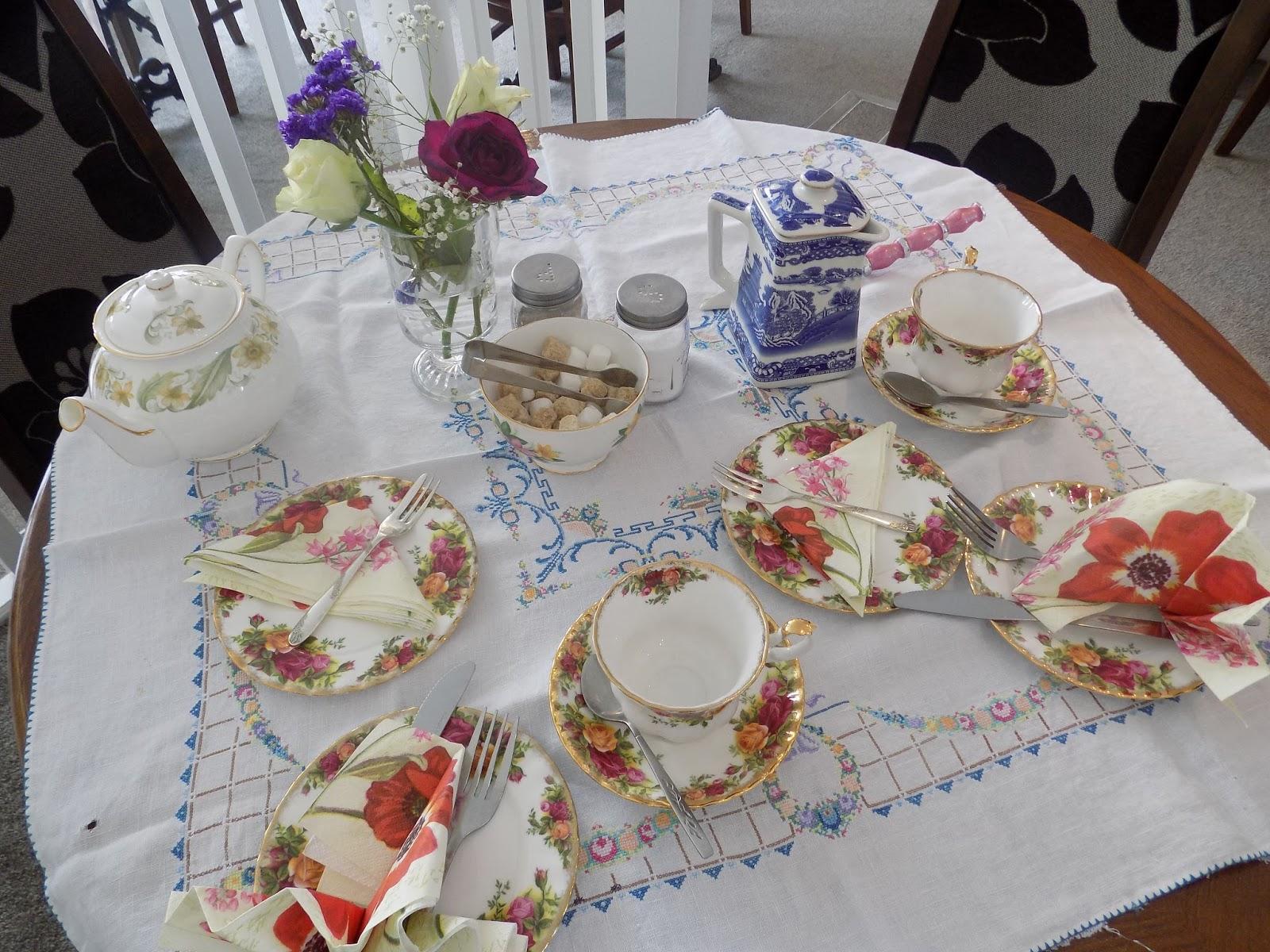 Review of Helene's tearoom, Skipton. Afternoon tea.