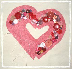 manualidades de corazones para san valentin