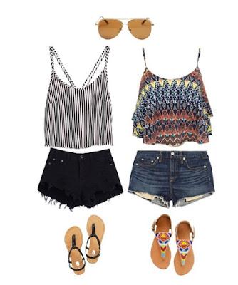 outfits para vacaciones de verano