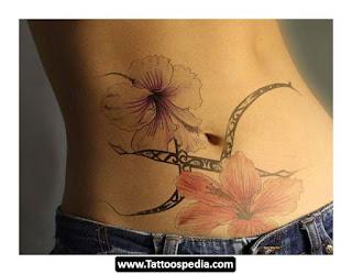tatuagem feminina barriga