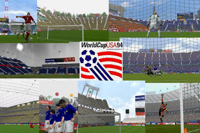 PES 6 Stadiums World Cup USA 1994 Updated 2016