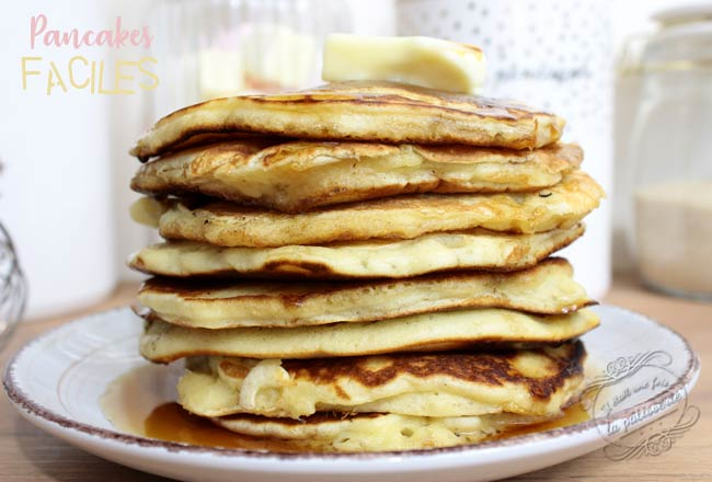 recettes pancakes rapide