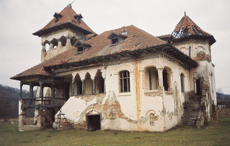 Ruinele conacului Vladescu