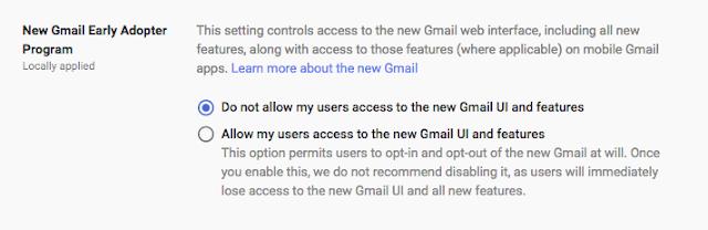 new Gmail UI