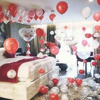Bí kíp trang trí phòng cô dâu bằng bóng bay siêu nhanh, siêu đẹp