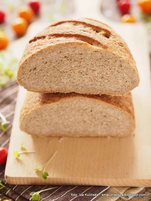 chleb razowy, chleb pelnoziarnisty, chlebek, kromka chleba, domowa piekarnia, upiecz sobie chleb, maka typ 1850, maka pszenna pelnoziarnista