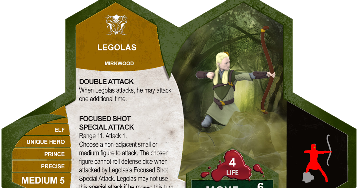 The Heroscape Blog: The Book of Legolas