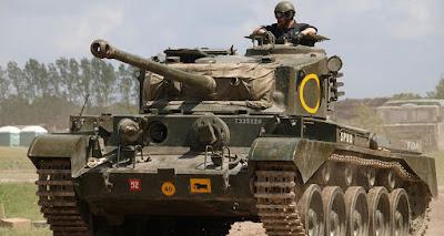 Tank Comet I A34 Inggris