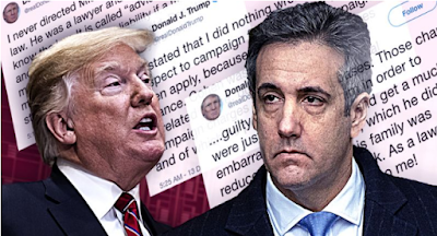 Trump: I never asked Michael Cohen to commit crimes