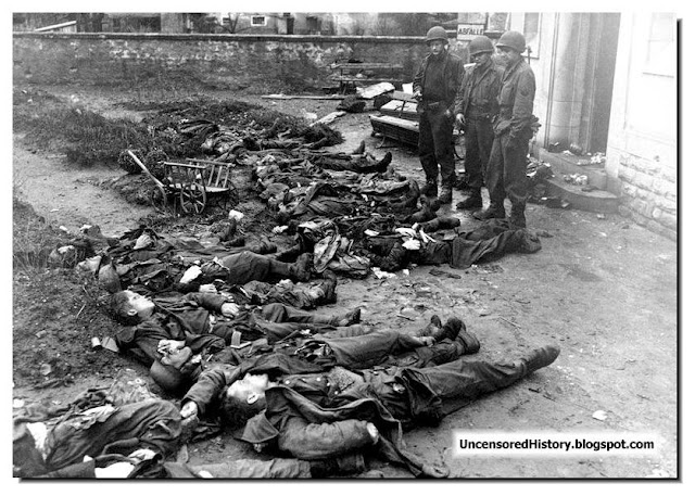 Dachau SS guards killed American soldiers
