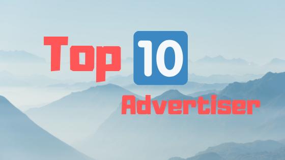 top 10 Advertiser