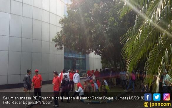 Kader PDIP Kembali Geruduk Radar Bogor