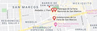 Feria San Marcos cartelera espectaculos funciones boletos para el Palenque 2020 2021 2022 2023 2024
