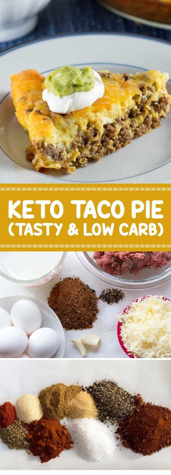 Keto Taco Pie (Tasty & Low Carb)