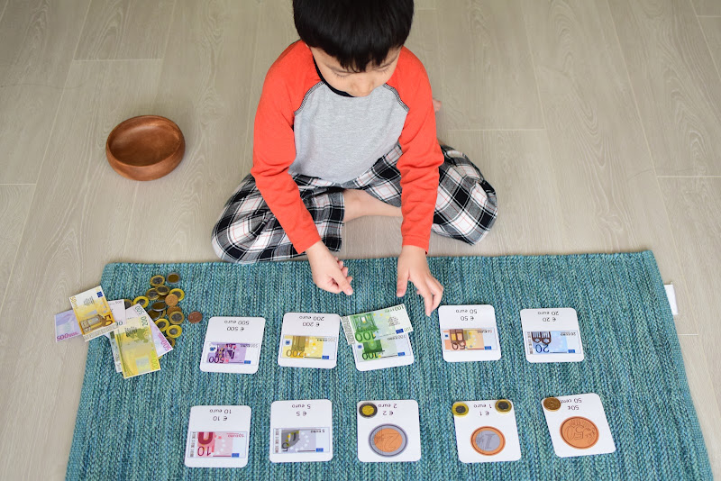 SPRING ACTIVITIES: LEARNING ABOUT MONEY