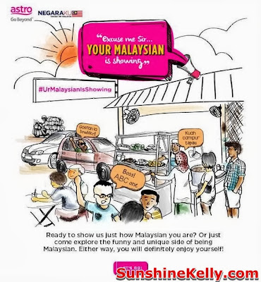 merdeka 2013, Astro, Your Malaysian is Showing, Go Beyond, Positive Engine, Event, Mid Valley megamall,