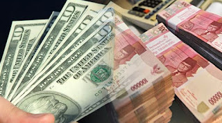 Nilai tukar Rupiah merosot ke lagi sampe Rp 13.471 per USD - Commando