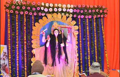 Saraswati Puja Pandels, Decoration, Images