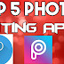 Top 5 photo editing apps 2019| NS STUDIO