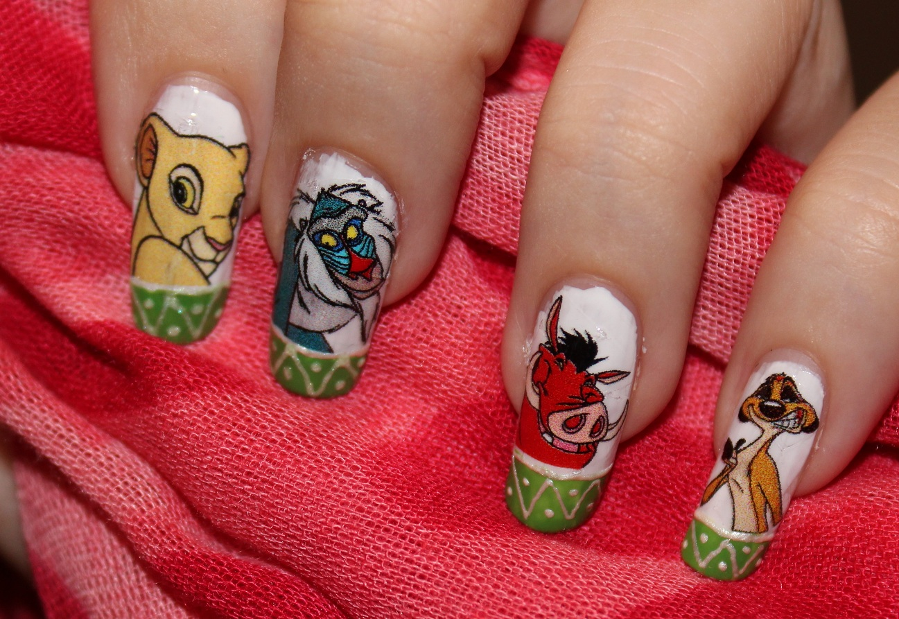 Nail Design Tutorials 2012: Nail Design - Lion King. Home ...