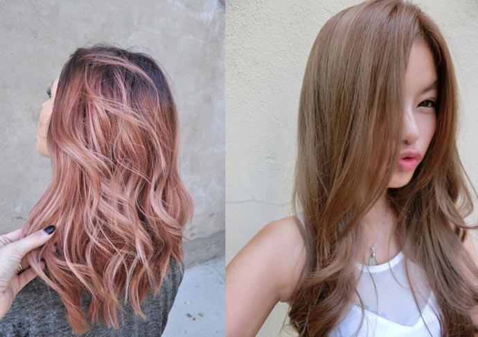 6 màu nhuộm tóc xu hướng mùa thu đông 2017