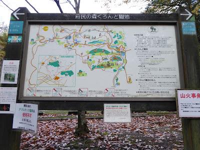 府民の森くろんど園地マップ
