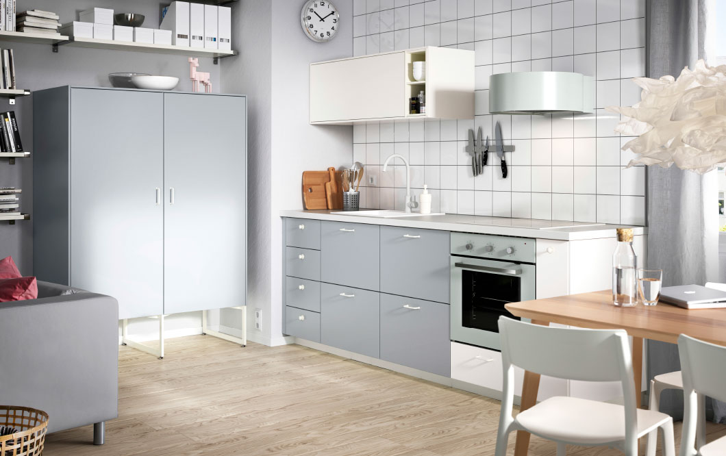 10 Idea Dekorasi Dapur Kecil Dan Bajet