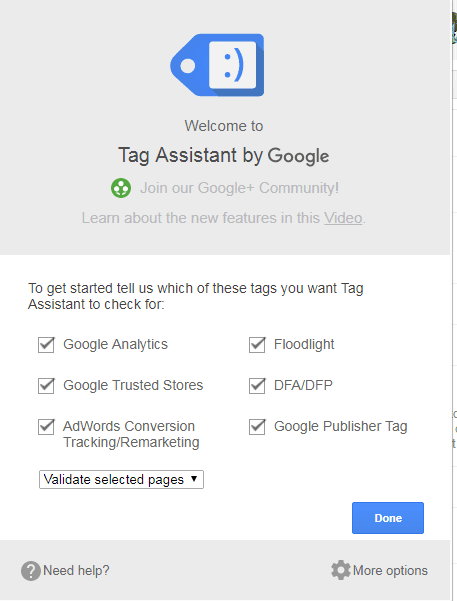 google tag assistant tutorial how to setup google analytics for a blog