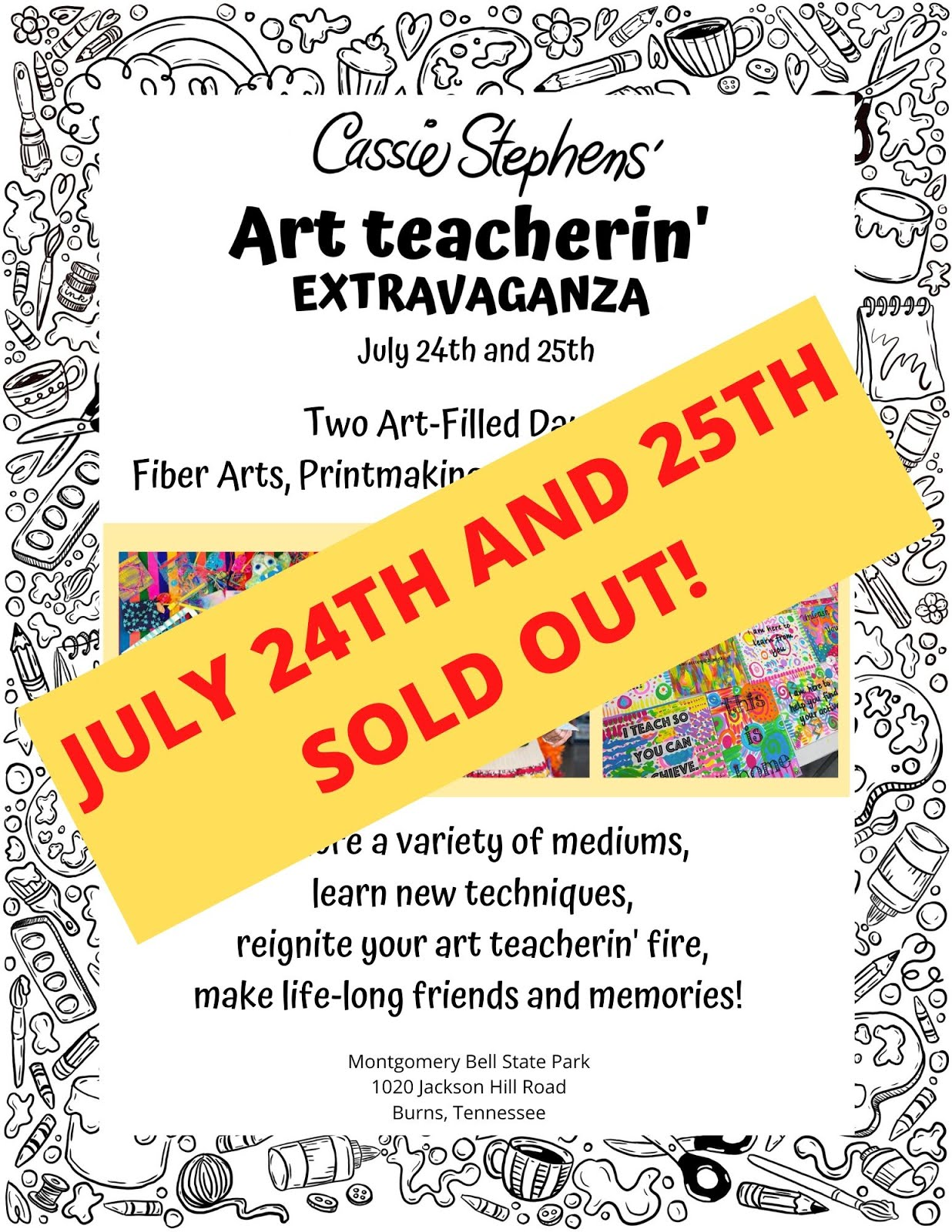 Art Teacherin' Extravaganza 1