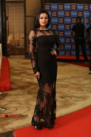 Actress Soniya Stills in Beautiful Black Long Dress at SIIMA Short Film Awards 2017 .COM 0023.JPG