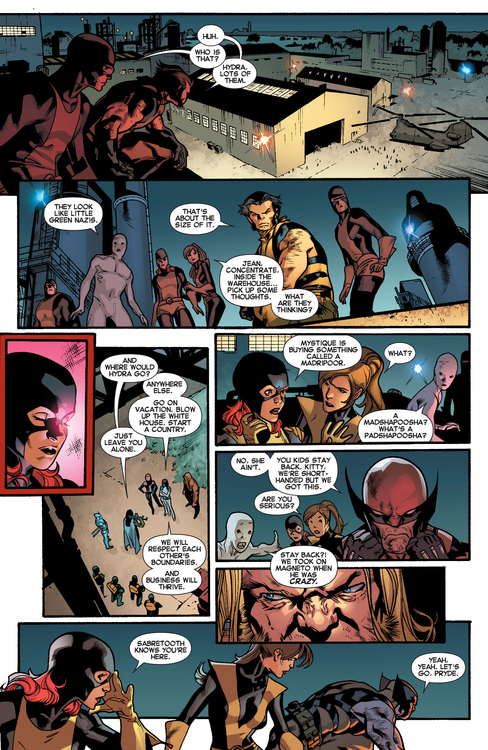 Read online All-New X-Men (2013) comic -  Issue # _Special - Out Of Their Depth - 63
