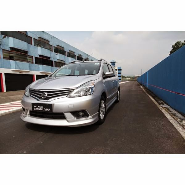 Body Kit Nissan Grand Livina Highway Star 2013-2014