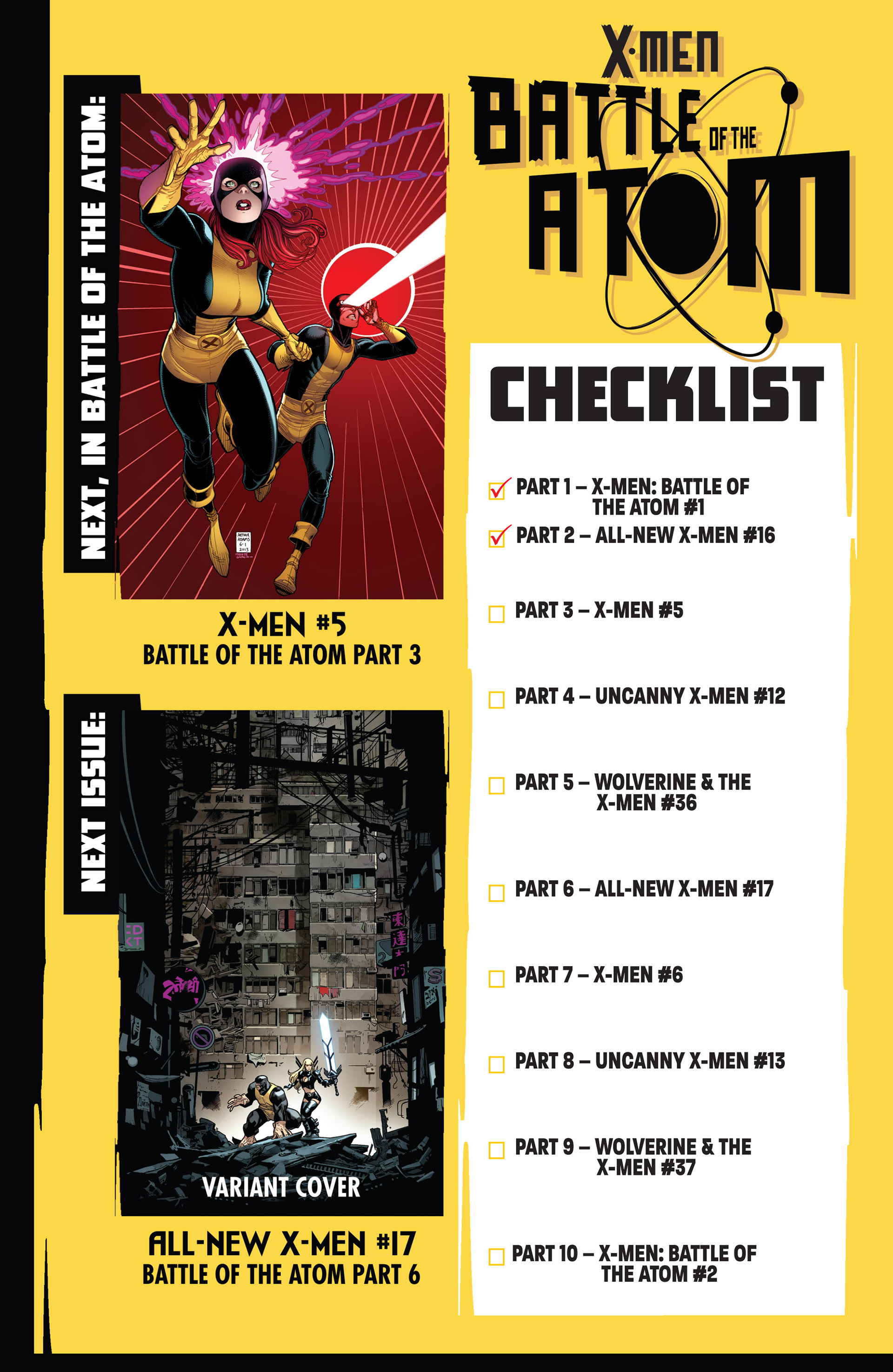 Read online All-New X-Men (2013) comic -  Issue #16 - 17