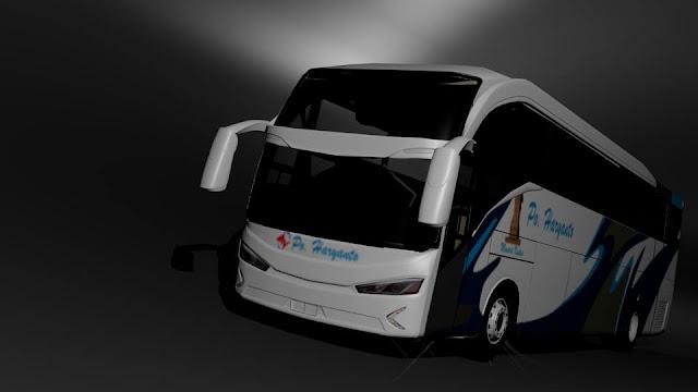 Download mod Ets2 bus EVOLANDER SHD MN
