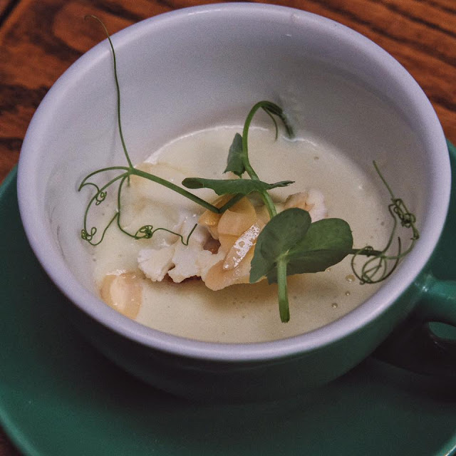 Celery and Almond Soup