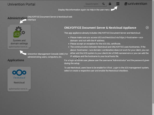 Onlyoffice - Nextcloud portal