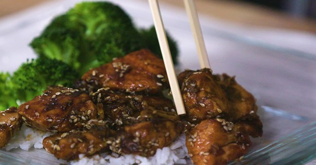 Skillet Sesame Chicken Recipe