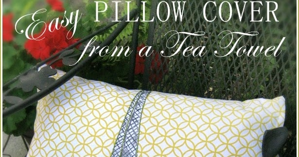 Confessions Of A Plate Addict How To Make A Pillow Cover