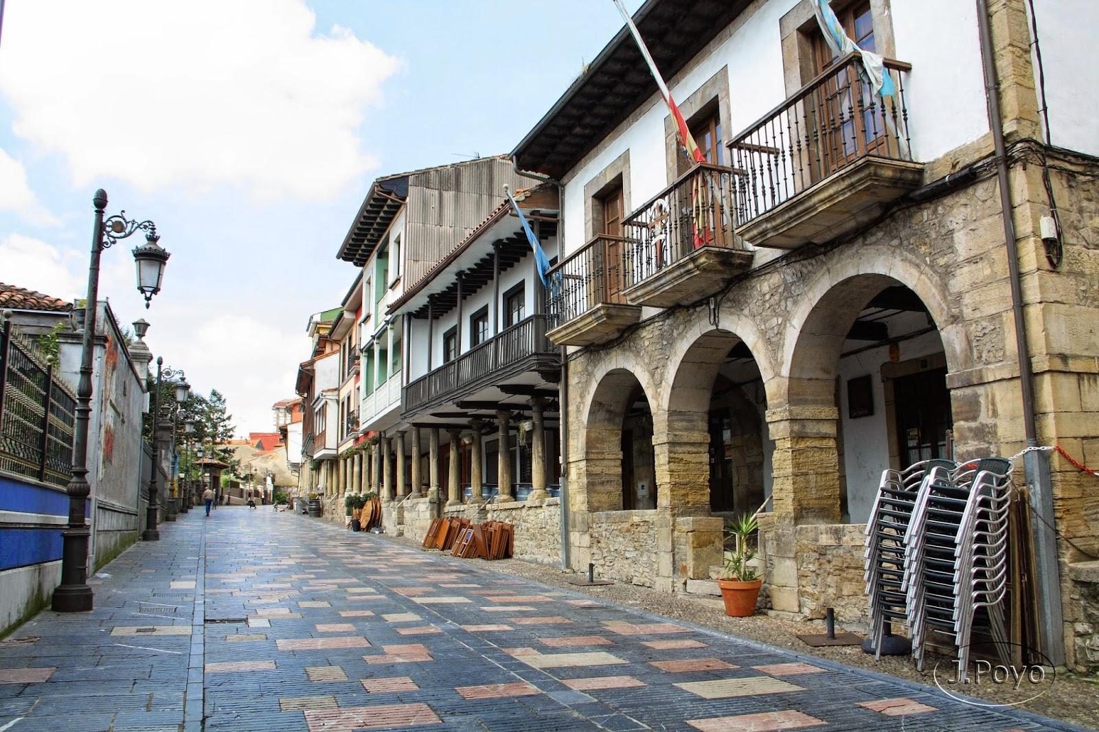 Calle Galiana de Avilés