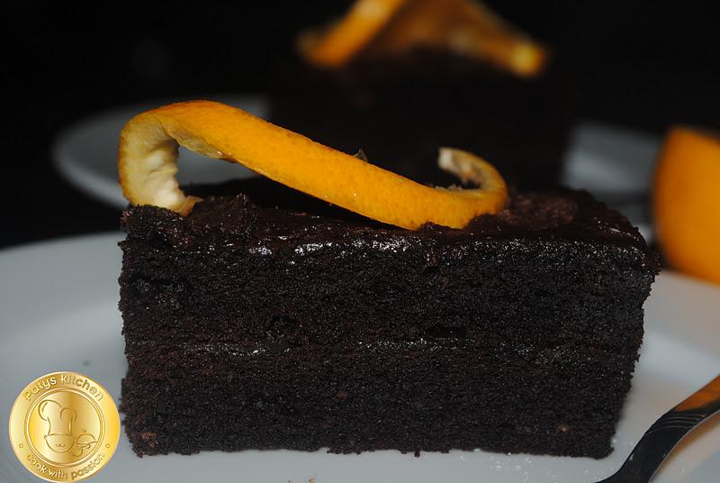 Patyskitchen Flourless Chocolate Orange Cake