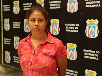 Babá é presa acusada de estuprar menina de nove anos em Manaus