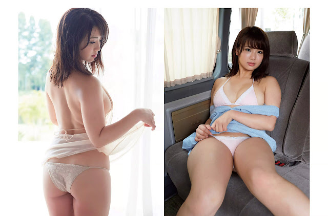 debut av gravure hirajima natsumi ex akb48 nacchan