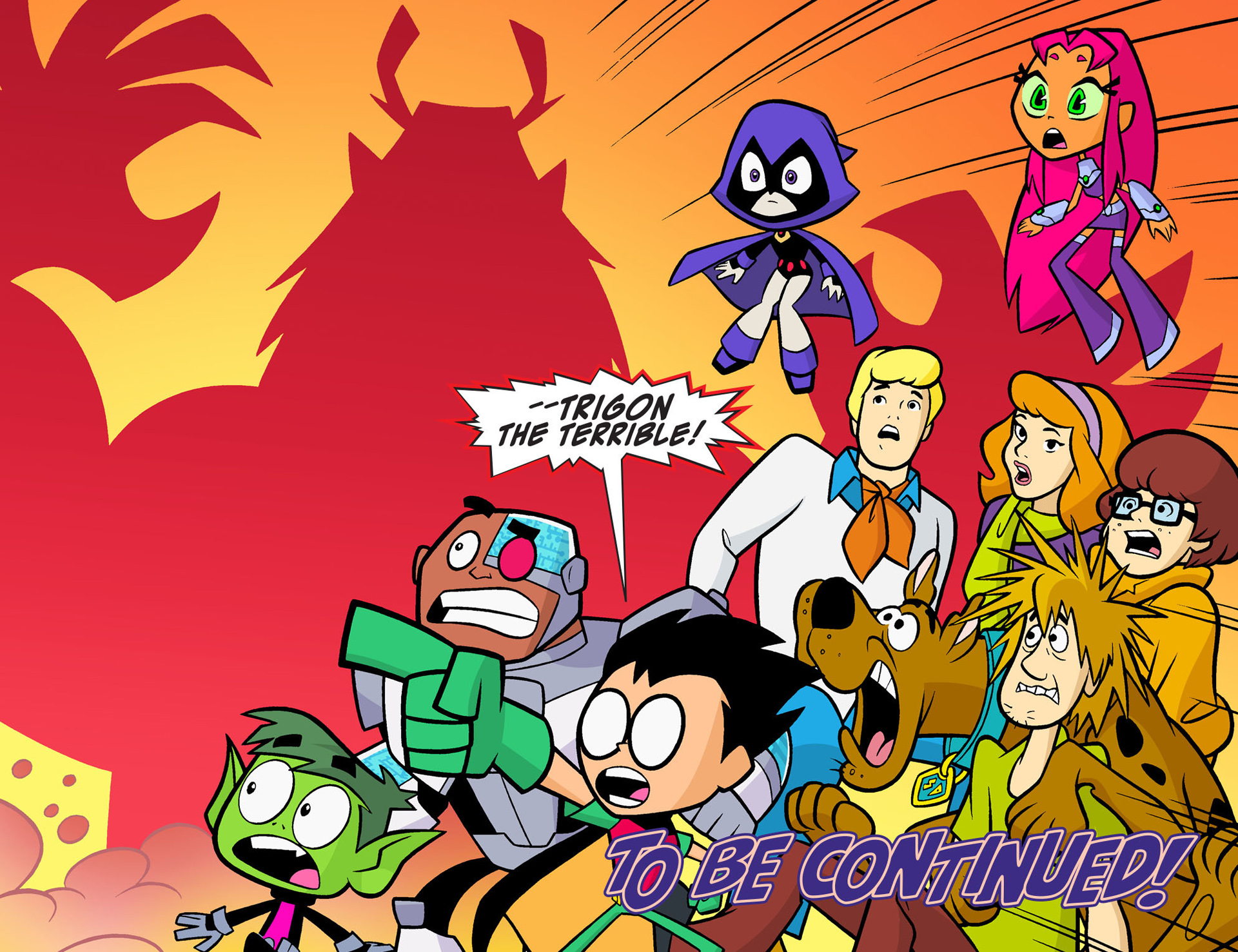 Read online Scooby-Doo! Team-Up comic -  Issue #7 - 22