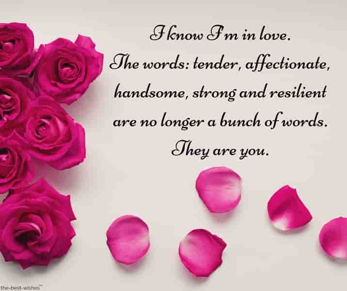 you are perfect message to love