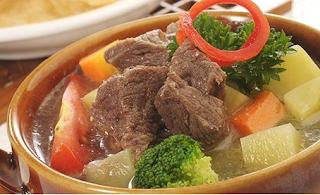 Resep Harian Sup Daging Sapi Penuh Istimewa