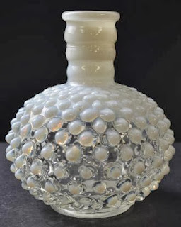 Fenton Art Glass - Hobnail French Opalescent Pattern - Cologne Bottle  TGL Direct