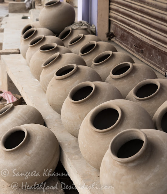 making of Earthen pots