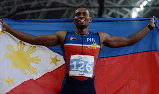 Filipino-American Eric Cray will run in the 400m Hurdles for the Philippines in Rio on Monday.
